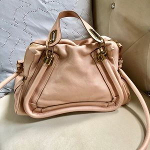 Authentic Chloe Paraty 2-way Medium Leather Bag